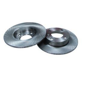 Bremsscheibe Bremsscheibendicke: 8,9mm, Lochanzahl: 4, Ø: 232mm mit OEM-Nummer 1JE 615 601