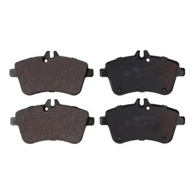 Brake Pad Set, disc brake Width: 131,8mm, Height: 70mm, Thickness: 20,1mm with OEM Number A1694200120