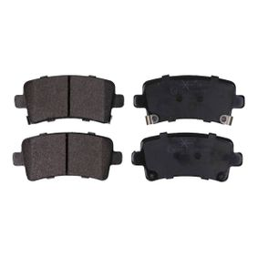Brake Pad Set, disc brake Height: 47,4mm, Thickness: 17,3mm with OEM Number 1605319