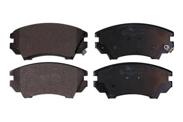 MAXGEAR  19-1543 Brake Pad Set, disc brake Width: 142,1mm, Height: 67mm, Thickness: 19,1mm