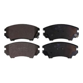 Brake Pad Set, disc brake Width: 142,1mm, Height: 67mm, Thickness: 19,1mm with OEM Number 1323 7751