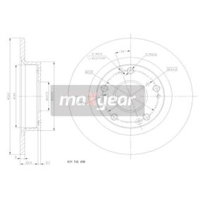 Honda Civic 8 1.8 (FN1, FK2) Wasserpumpe + Zahnriemensatz MAXGEAR 19-1854 (1.8 (FN1, FK2) Benzin 2021 R18A2)