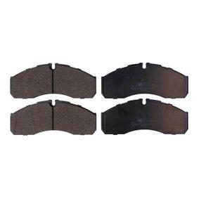 Bremsbelagsatz, Scheibenbremse Breite: 164,8mm, Höhe: 68mm, Dicke/Stärke: 20mm mit OEM-Nummer 41060 9X129