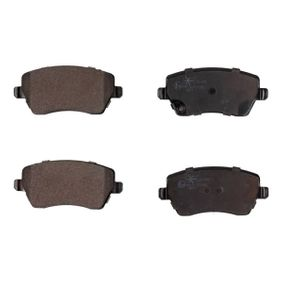 Brake Pad Set, disc brake Width: 116,5mm, Height: 52,3mm, Thickness: 17,3mm with OEM Number 4 701 305