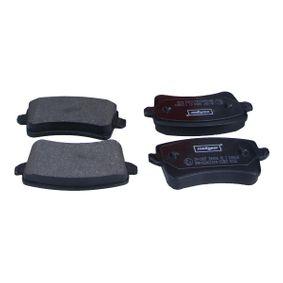 Bremsbelagsatz, Scheibenbremse Breite: 116,6mm, Höhe: 59mm, Dicke/Stärke: 17,7mm mit OEM-Nummer 8K0698451C