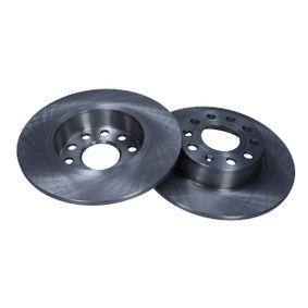 Bremsscheibe Bremsscheibendicke: 10mm, Lochanzahl: 9, Ø: 271,8mm mit OEM-Nummer 5C0615601