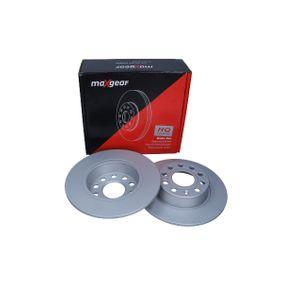 Bremsscheibe Bremsscheibendicke: 10mm, Ø: 272mm mit OEM-Nummer 1K0 615 601AA