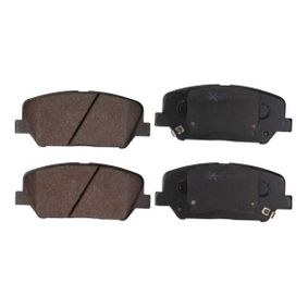 Bremsbelagsatz, Scheibenbremse Breite: 140,7mm, Höhe: 59,9mm, Dicke/Stärke: 17,3mm mit OEM-Nummer 58101 2TA61