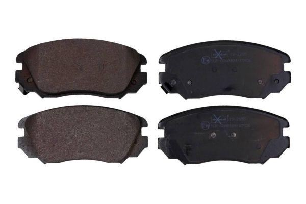 MAXGEAR  19-2155 Bremsbelagsatz, Scheibenbremse Breite: 131,6mm, Höhe: 59,6mm, Dicke/Stärke: 18,6mm