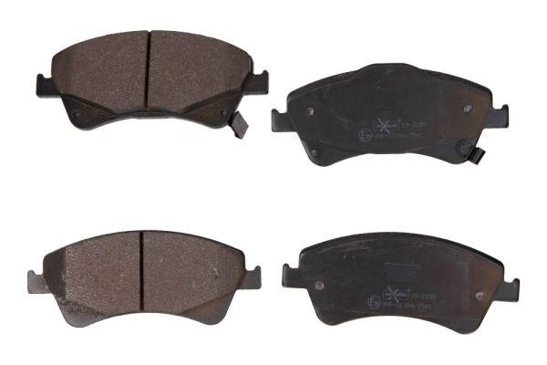 MAXGEAR  19-2159 Bremsbelagsatz, Scheibenbremse Breite: 151mm, Höhe: 65,3mm, Dicke/Stärke: 18,9mm