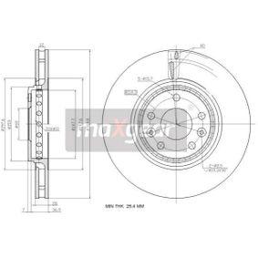 Bremsscheibe Bremsscheibendicke: 28mm, Lochanzahl: 5, Ø: 320mm mit OEM-Nummer 40 20 641 55R