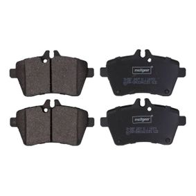 Brake Pad Set, disc brake Width: 116,6mm, Height: 63,7mm, Thickness: 19mm with OEM Number 169 420 13 20