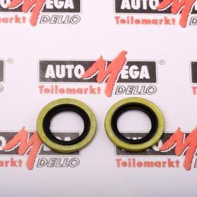 Seal, oil drain plug Ø: 24mm, Thickness: 1,5mm, Inner Diameter: 16,7mm with OEM Number 1102600QAA