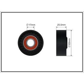 Spannrolle, Keilrippenriemen Breite: 25,5mm mit OEM-Nummer 11 75 011 13R
