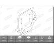 OEM Brake Lining Kit, drum brake 1949417000015758 from BERAL
