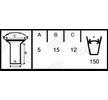 OEM Brake Lining Kit, drum brake 1955718607015506 from BERAL