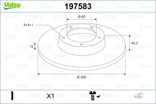Scheibenbremsen VALEO 197583 Bewertung