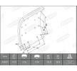 OEM Brake Lining Kit, drum brake 1993120000016374 from BERAL