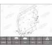 OEM Brake Lining Kit, drum brake 1993221000016374 from BERAL