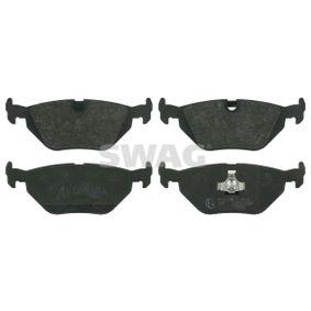 Bremsbelagsatz, Scheibenbremse Breite: 45,0mm, Dicke/Stärke 1: 17mm mit OEM-Nummer 34211164501