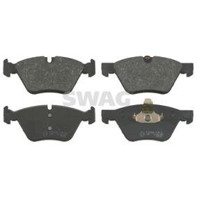 Brake Pad Set, disc brake 20 91 6503 3 Saloon (E90) 330d 3.0 MY 2008