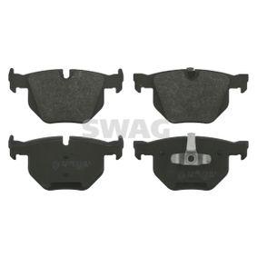 Brake Pad Set, disc brake 20 91 6587 3 Saloon (E90) 335d 3.0 MY 2011