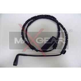 Warnkontakt, Bremsbelagverschleiß Länge: 840mm mit OEM-Nummer 34351163065