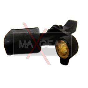 Sensor, Raddrehzahl Pol-Anzahl: 2-polig mit OEM-Nummer 6Q0 927 807 B