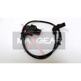 Sensor, Raddrehzahl Länge über Alles: 570mm mit OEM-Nummer 168-540-0117