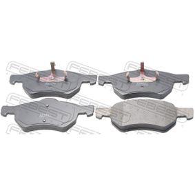 Bremsbelagsatz, Scheibenbremse Dicke/Stärke: 17,4mm mit OEM-Nummer 5015365AA