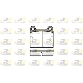 Bremsbelagsatz, Scheibenbremse Höhe: 56,5mm, Dicke/Stärke: 15mm mit OEM-Nummer 1 605 157