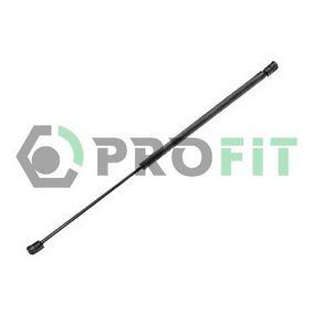 PROFIT  2015-0129 Heckklappendämpfer / Gasfeder Länge: 571mm, Hub: 209mm