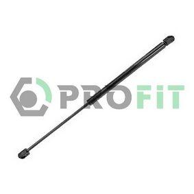 Muelle neumático, maletero / compartimento de carga Long.: 495mm, Carrera: 198mm con OEM número 1U6827550E