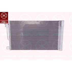 Kondensator, Klimaanlage Netzmaße: 570x353x12 mit OEM-Nummer 13400150