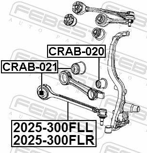 Wishbone FEBEST 2025-300FLL rating