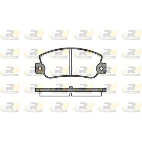 Bremsbelagsatz, Scheibenbremse Höhe: 47mm, Dicke/Stärke: 12mm mit OEM-Nummer 791 873