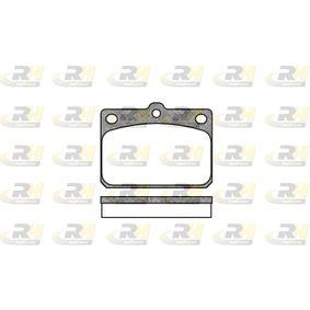 Kit pastiglie freno, Freno a disco 2079.00 Lancer Celeste Coupe (A7_) 2.0 GSR ac 1981