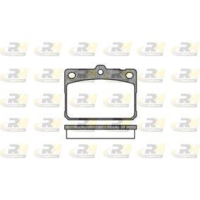 Kit pastiglie freno, Freno a disco 2079.30 Lancer Celeste Coupe (A7_) 2.0 GSR ac 1979
