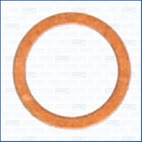 Anello di tenuta, vite di scarico olio Ø: 12,25mm, Spessore: 1,2mm, Diametro interno: 16mm con OEM Numero N 007 603 012 102