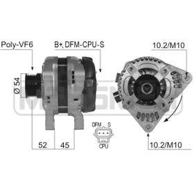 Lichtmaschine mit OEM-Nummer 1 748 630