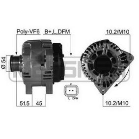 Generator mit OEM-Nummer 717 3355 2