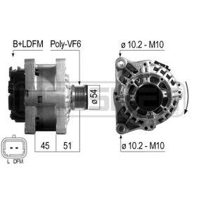 Generator mit OEM-Nummer 96 496 112 80