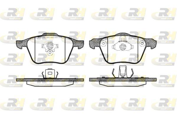 ROADHOUSE  21070.00 Brake Pad Set, disc brake Height 1: 71mm, Height 2: 72mm, Thickness 1: 18,2mm, Thickness 2: 19,7mm
