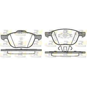 Bremsbelagsatz, Scheibenbremse Höhe 2: 62,2mm, Höhe: 67mm, Dicke/Stärke: 18mm mit OEM-Nummer CV6Z2001A