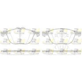 Bremsbelagsatz, Scheibenbremse Höhe 2: 62,2mm, Höhe: 67mm, Dicke/Stärke: 18mm mit OEM-Nummer 1797211