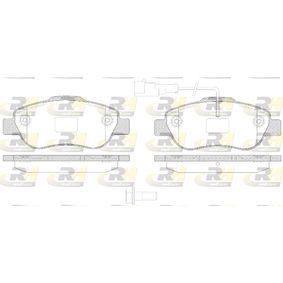 ROADHOUSE  21100.21 Bremsbelagsatz, Scheibenbremse Höhe: 51,7mm, Dicke/Stärke: 17,4mm