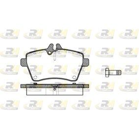 Bremsbelagsatz, Scheibenbremse Höhe: 64mm, Dicke/Stärke: 18,8mm mit OEM-Nummer 169 420 10 20