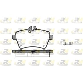 Brake Pad Set, disc brake Height: 64mm, Thickness: 18,8mm with OEM Number 169 420 2020