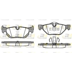 Brake Pad Set, disc brake 21145.10 3 Saloon (E90) 320d 2.0 MY 2009