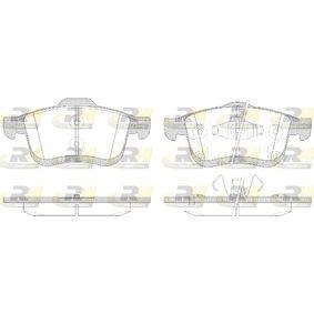 Bremsbelagsatz, Scheibenbremse Höhe 2: 69mm, Höhe: 71,5mm, Dicke/Stärke: 20mm mit OEM-Nummer 68211488AA